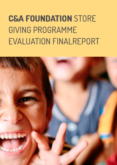 Evaluation Report: C&A Store Giving Programme