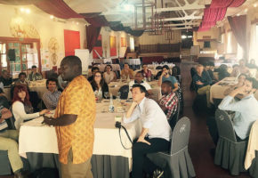 CAD delivers a workshop on inclusive markets to the leaders of Action Against Hunger