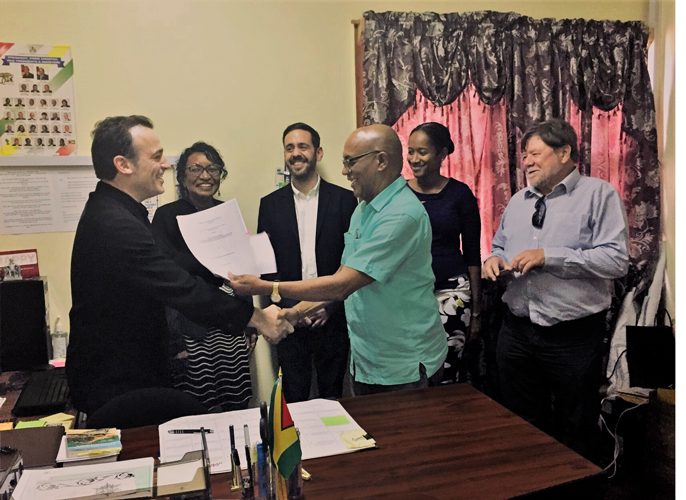 CAD supports the implementation of REDD+ in Guyana