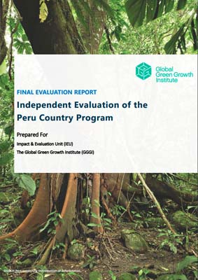 Independent Evaluation of GGGI Peru Country Programme