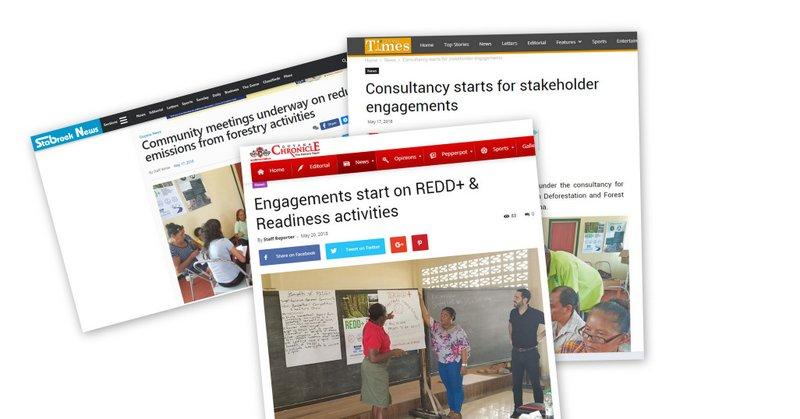 Tallers liderats per CAD, reportats pels tres mitjans més llegits de Guyana