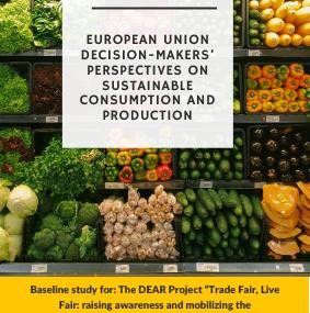 Public attitudes to fair trade and ethical consumption