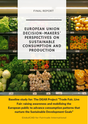 Public attitudes to fair trade and ethical consumption