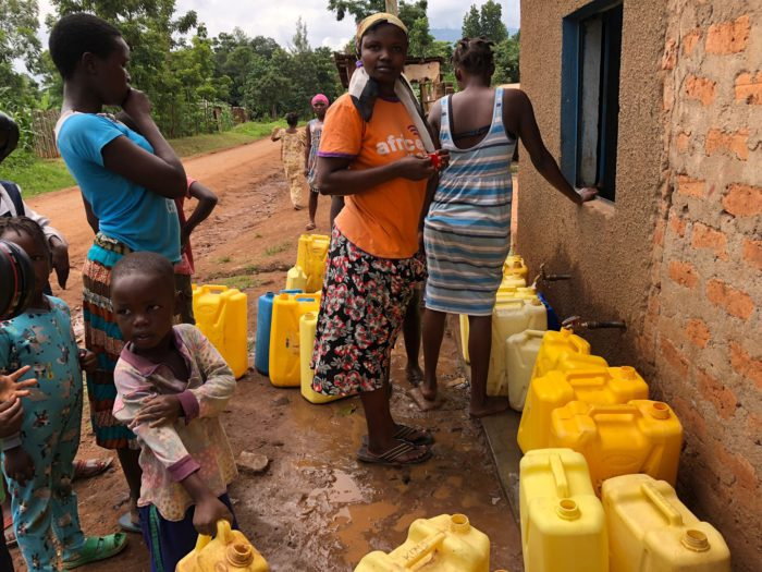 Women on water supply