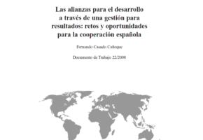 Partnerships for development through performance management: challenges and opportunities for Spanish cooperation