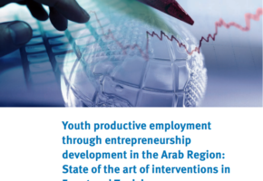 Youth productive employment through entrepreneurship development in the Arab Region: State of the art of interventions in Egypt and Tunisia