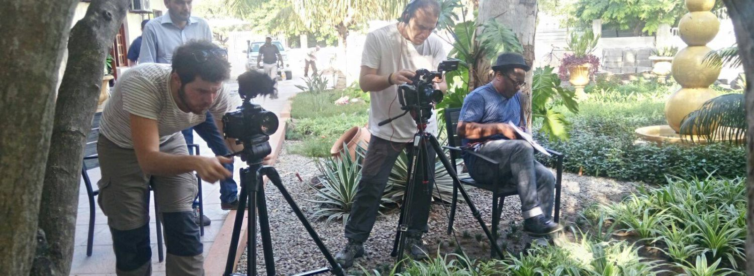 CAD Productions filming in Mozambique for REDD+ project