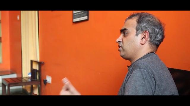 Entrevistando a Ashwin Mahesh